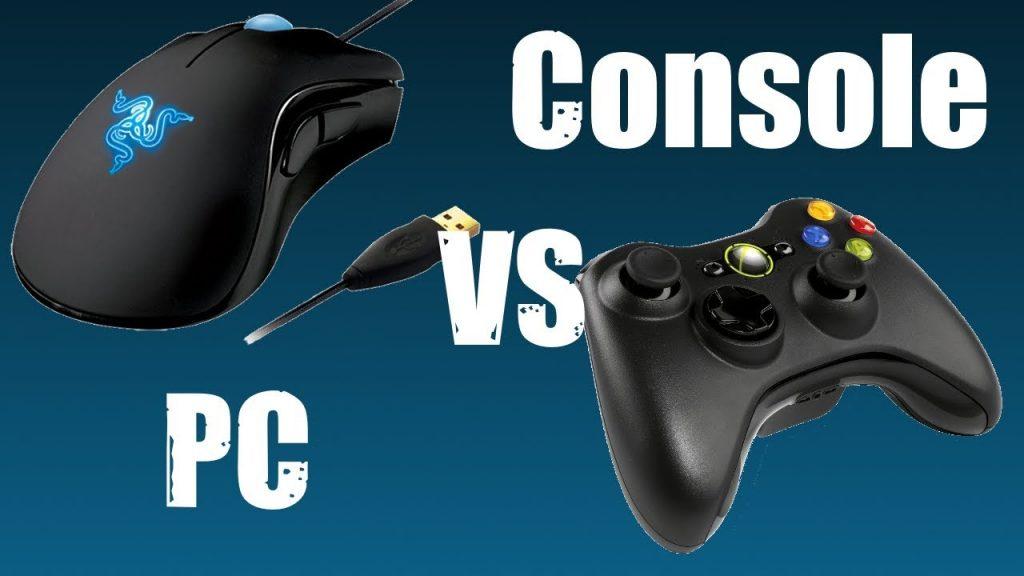Konsolenspiele im Vergleich zu Online-Spielen